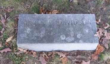 DAVIDSON, HAZEL V. - Columbiana County, Ohio | HAZEL V. DAVIDSON - Ohio Gravestone Photos