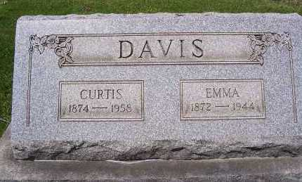 DAVIS, CURTIS - Columbiana County, Ohio | CURTIS DAVIS - Ohio Gravestone Photos
