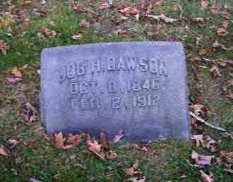 DAWSON, JOB H. - Columbiana County, Ohio | JOB H. DAWSON - Ohio Gravestone Photos