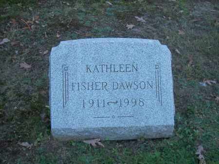 FISHER DAWSON, KATHLEEN - Columbiana County, Ohio | KATHLEEN FISHER DAWSON - Ohio Gravestone Photos