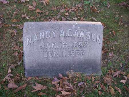 DAWSON, NANCY A. - Columbiana County, Ohio | NANCY A. DAWSON - Ohio Gravestone Photos