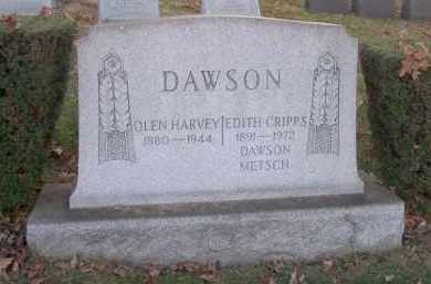 DAWSON, OLEN HARVEY - Columbiana County, Ohio | OLEN HARVEY DAWSON - Ohio Gravestone Photos