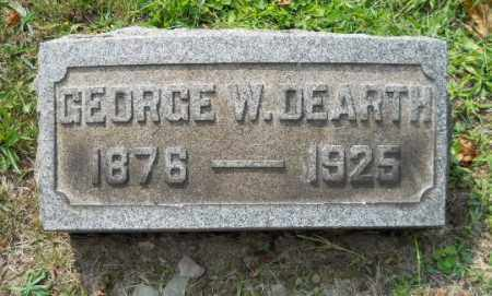 DEARTH, GEORGE WILLIAM - Columbiana County, Ohio | GEORGE WILLIAM DEARTH - Ohio Gravestone Photos
