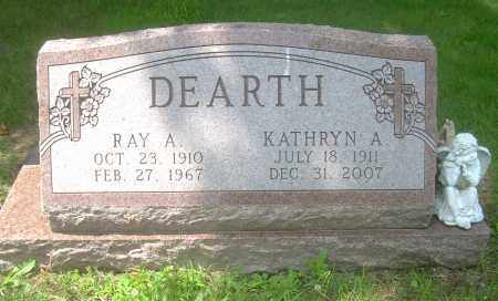 DEARTH, RAY A - Columbiana County, Ohio | RAY A DEARTH - Ohio Gravestone Photos