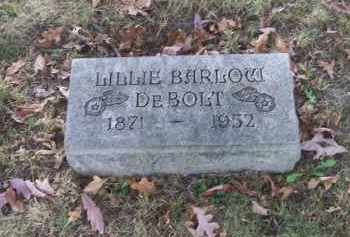 BARLOW DEBOLT, LILLIE - Columbiana County, Ohio | LILLIE BARLOW DEBOLT - Ohio Gravestone Photos