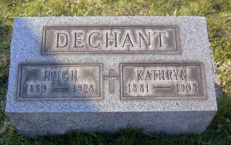 DECHANT, HUGH - Columbiana County, Ohio | HUGH DECHANT - Ohio Gravestone Photos