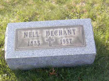 DECHANT, NELL - Columbiana County, Ohio | NELL DECHANT - Ohio Gravestone Photos