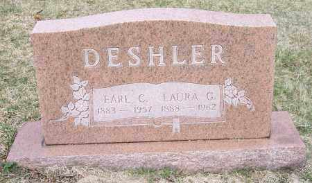 DESHLER, EARL C. - Columbiana County, Ohio | EARL C. DESHLER - Ohio Gravestone Photos