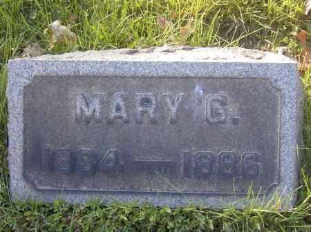 DETEMPLE, MARY G. - Columbiana County, Ohio | MARY G. DETEMPLE - Ohio Gravestone Photos