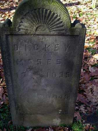 DICKEY, MOSES - Columbiana County, Ohio | MOSES DICKEY - Ohio Gravestone Photos