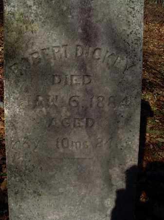 DICKEY, ROBERT - Columbiana County, Ohio | ROBERT DICKEY - Ohio Gravestone Photos