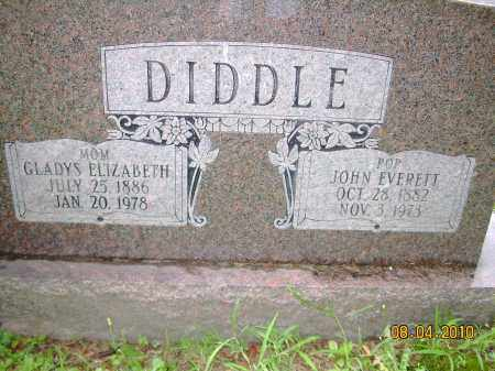 DIDDLE, GLADYS ELIZABETH - Columbiana County, Ohio | GLADYS ELIZABETH DIDDLE - Ohio Gravestone Photos