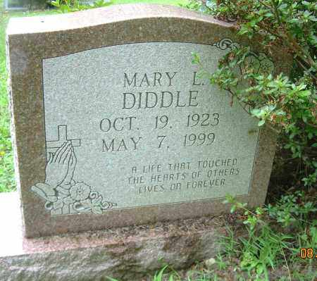 DIDDLE, MARY L. - Columbiana County, Ohio   MARY L. DIDDLE - Ohio Gravestone Photos