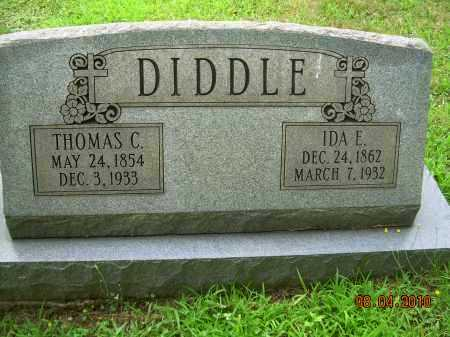 DIDDLE, IDA E - Columbiana County, Ohio | IDA E DIDDLE - Ohio Gravestone Photos