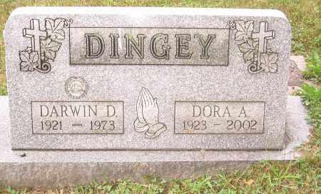 DINGEY, DORA A - Columbiana County, Ohio | DORA A DINGEY - Ohio Gravestone Photos