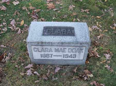 DOAK, CLARA MAE - Columbiana County, Ohio | CLARA MAE DOAK - Ohio Gravestone Photos