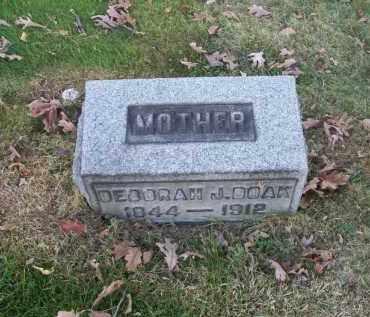 DOAK, DEBORAH J. - Columbiana County, Ohio | DEBORAH J. DOAK - Ohio Gravestone Photos