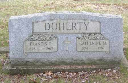 DOHERTY, FRANCIS T. - Columbiana County, Ohio | FRANCIS T. DOHERTY - Ohio Gravestone Photos
