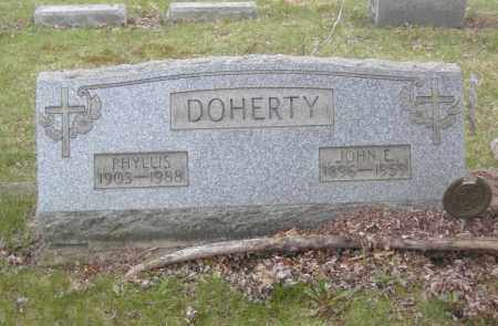 DOHERTY, PHYLLIS - Columbiana County, Ohio | PHYLLIS DOHERTY - Ohio Gravestone Photos