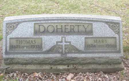 DOHERTY, MARY - Columbiana County, Ohio | MARY DOHERTY - Ohio Gravestone Photos