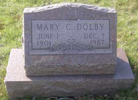 DOLBY, MARY C. - Columbiana County, Ohio | MARY C. DOLBY - Ohio Gravestone Photos