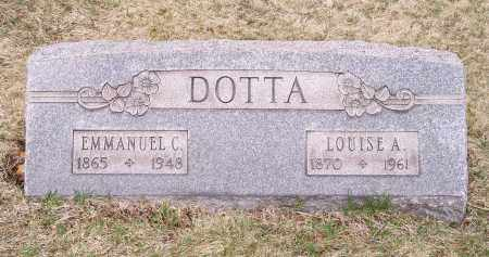 DOTTA, LOUISE A. - Columbiana County, Ohio | LOUISE A. DOTTA - Ohio Gravestone Photos