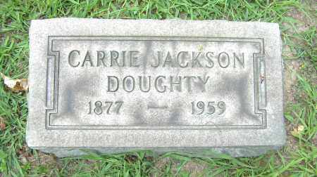 JACKSON DOUGHTY, CARRIE - Columbiana County, Ohio | CARRIE JACKSON DOUGHTY - Ohio Gravestone Photos