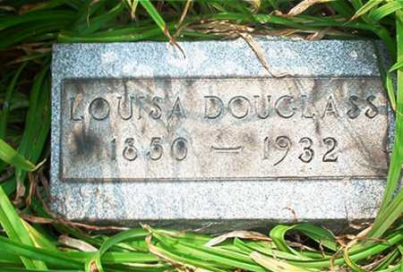 DOUGLASS, LOUISA - Columbiana County, Ohio | LOUISA DOUGLASS - Ohio Gravestone Photos