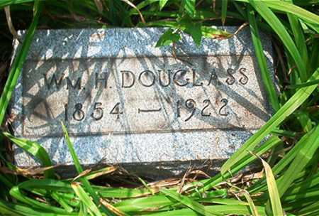 DOUGLASS, WM. H. - Columbiana County, Ohio | WM. H. DOUGLASS - Ohio Gravestone Photos