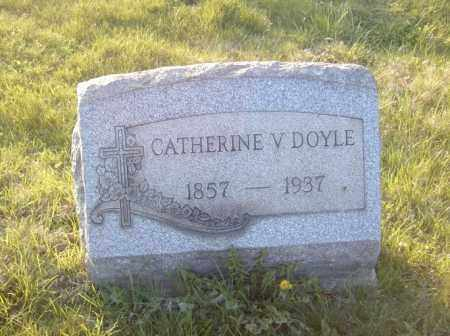 DOYLE, CATHERINE V. - Columbiana County, Ohio | CATHERINE V. DOYLE - Ohio Gravestone Photos