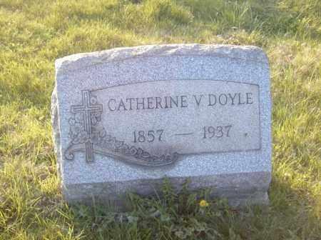 DOYLE, CATHERINE V. - Columbiana County, Ohio | CATHERINE V. DOYLE - Ohio Gravestone Photos
