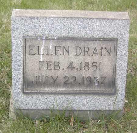 DRAIN, ELLEN - Columbiana County, Ohio | ELLEN DRAIN - Ohio Gravestone Photos