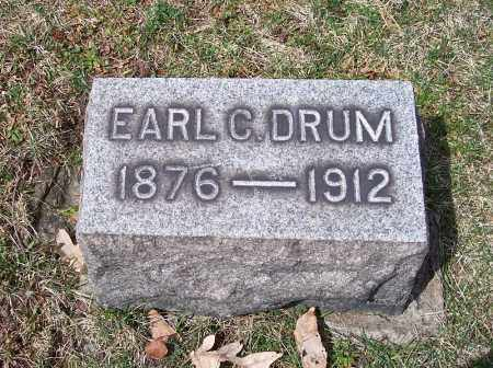 DRUM, EARL C. - Columbiana County, Ohio | EARL C. DRUM - Ohio Gravestone Photos