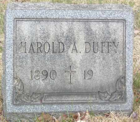 DUFFY, HAROLD A. - Columbiana County, Ohio | HAROLD A. DUFFY - Ohio Gravestone Photos
