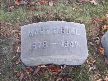 DUKE, MARY E. - Columbiana County, Ohio | MARY E. DUKE - Ohio Gravestone Photos
