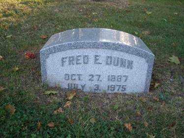 DUNN, FRED E. - Columbiana County, Ohio | FRED E. DUNN - Ohio Gravestone Photos