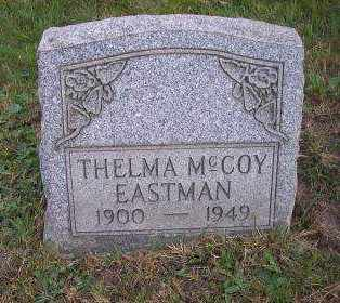 MCCOY EASTMAN, THELMA - Columbiana County, Ohio | THELMA MCCOY EASTMAN - Ohio Gravestone Photos