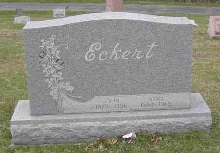 ECKERT, JOHN - Columbiana County, Ohio | JOHN ECKERT - Ohio Gravestone Photos