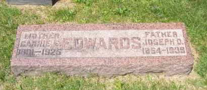 FREED EDWARDS, CARRIE - Columbiana County, Ohio | CARRIE FREED EDWARDS - Ohio Gravestone Photos
