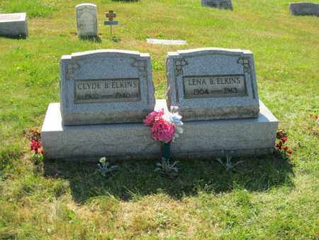 ELKINS, CLYDE BRENTON - Columbiana County, Ohio | CLYDE BRENTON ELKINS - Ohio Gravestone Photos