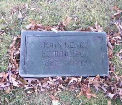 ELTRINGHAM, JOHN HENRY - Columbiana County, Ohio | JOHN HENRY ELTRINGHAM - Ohio Gravestone Photos