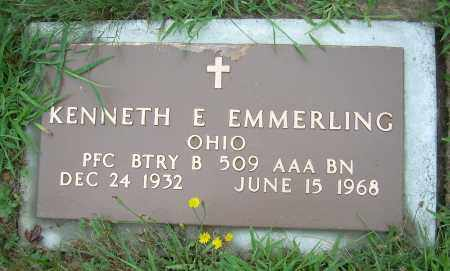 EMMERLING, KENNETH E - Columbiana County, Ohio | KENNETH E EMMERLING - Ohio Gravestone Photos