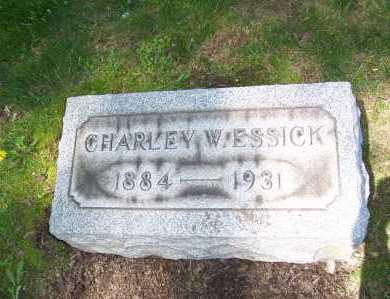 ESSICK, CHARLEY - Columbiana County, Ohio   CHARLEY ESSICK - Ohio Gravestone Photos