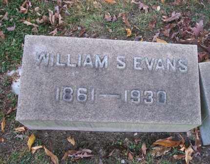 EVANS, WILLIAM S. - Columbiana County, Ohio | WILLIAM S. EVANS - Ohio Gravestone Photos