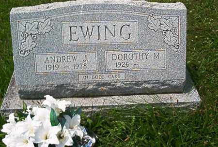 EWING, ANDREW J. - Columbiana County, Ohio | ANDREW J. EWING - Ohio Gravestone Photos