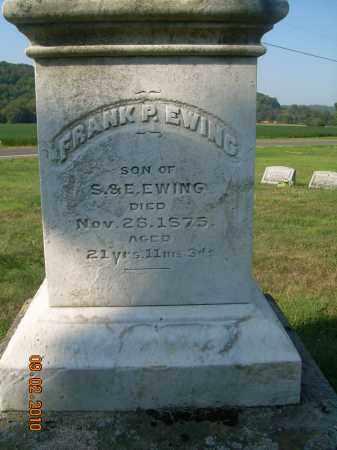 EWING, FRANK P - Columbiana County, Ohio | FRANK P EWING - Ohio Gravestone Photos