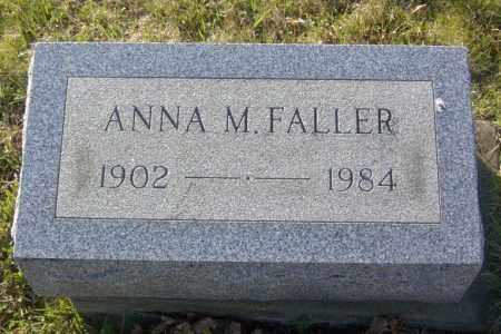 FALLER, ANNA M. - Columbiana County, Ohio | ANNA M. FALLER - Ohio Gravestone Photos