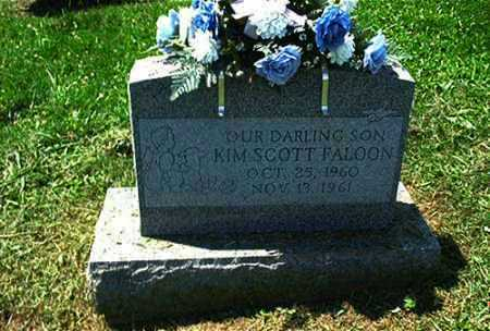 FALOON, KIM SCOTT - Columbiana County, Ohio | KIM SCOTT FALOON - Ohio Gravestone Photos