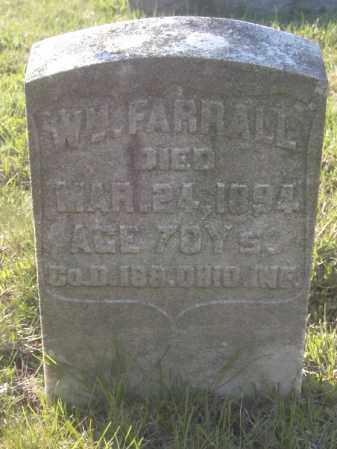 FARRALL, WM - Columbiana County, Ohio   WM FARRALL - Ohio Gravestone Photos
