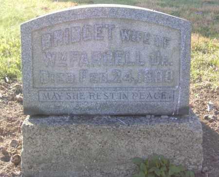 FARRELL, BRIDGET - Columbiana County, Ohio | BRIDGET FARRELL - Ohio Gravestone Photos